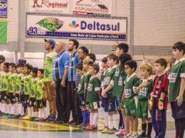 No último domingo, 30, foram conhecidos os Campeões Municipais do Futsal categorias sub 09, 11, 13 e 15.