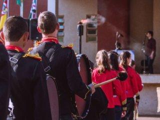 Solenidade de abertura da Semana da Pátria aconteceu na manhã desta sexta-feira, 01, no Largo da Prefeitura Municipal.