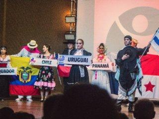 Abertura oficial da 2ª edição do Festival Internacional de Folclore Mundo em Dança.