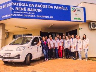 Secretaria Municipal de Saúde – ESF Dr Renê Baccin amplia área de atuação.