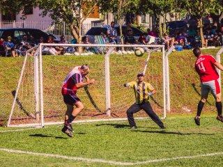 ESPORTE – 1ª rodada da categoria Veterano do Municipal de Futebol Sete.