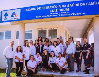 SAÚDE – Reinauguração do Posto de Saúde da Localidade do Depósito.