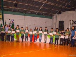 EDUCAÇÃO – A Secretaria Municipal de Educação de Espumoso juntamente com a Cotriel e Syngenta, promoveram o encerramento do Projeto Escola no Campo.