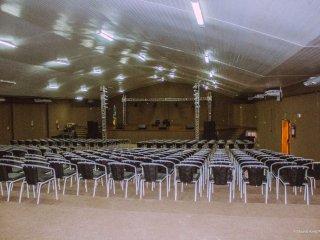 Plano contra incêndios e climatização do Auditório do Centro Cultural Dr Getúlio Soares de Chaves.