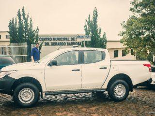 Saúde – Secretaria Municipal de Saúde faz aquisição de mais um veículo 0km.