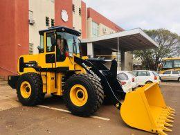 #OBRAS&ESTRADAS   Prefeitura adquire mais um equipamento pra Secretaria de Obras e Transportes.