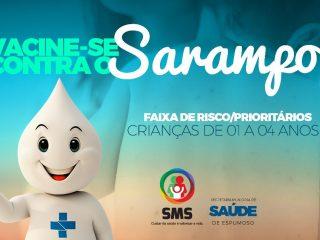 SAÚDE | SMS esclarece alguns Mitos e Verdades sobre novo surto de Sarampo na região norte do país.