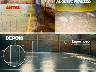 Educação | Escola Municipal Augusto Peruzzo Inaugura Quadra de Esportes
