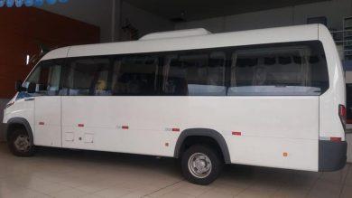 SAÚDE | Prefeitura Municipal adquire um novo MICRO ÔNIBUS para transporte de pacientes.