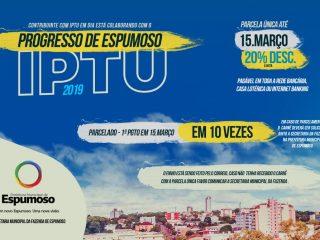 IPTU | Últimas dias para pagamento com DESCONTO DE 20%
