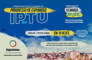 IPTU   Últimas dias para pagamento com DESCONTO DE 20%