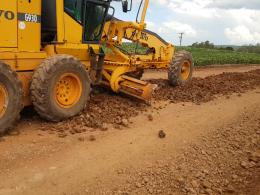 OBRAS I Acompanhe o trabalho de melhorias nas estradas do interior