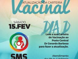 SAÚDE I Neste sábado é dia de atualizar a carteira de vacinação