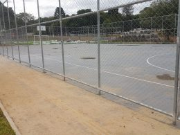 OBRAS I Complexo Esportiva está em fase final da sua segunda etapa