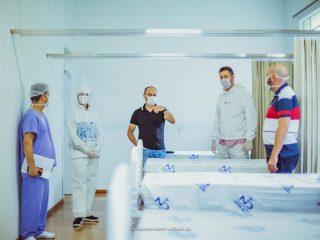 SAÚDE I Confira a visita da Administração Municipal ao Hospital Notre Dame São Sebastião