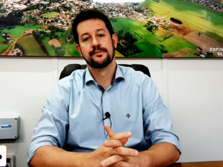 ADMINISTRAÇÃO I Prefeito anuncia instalação de sistema de videomonitoramento no interior do município