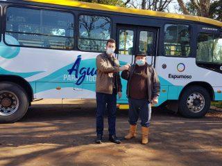 """AGRICULTURA I Ônibus """"Água para Todos"""" foi entregue para a Secretaria de Agricultura"""