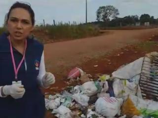 SAÚDE I Nova Campanha dos agentes comunitários de saúde visa conscientizar quanto ao descarte de lixo