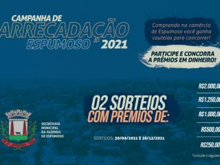 Participe da 2ª etapa da Campanha de Arrecadação Espumoso 2021