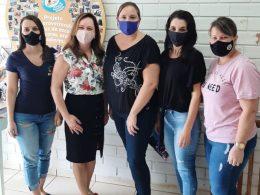 EDUCAÇÃO I Equipe da SMECT realiza visita as escolas municipais de educação infantil