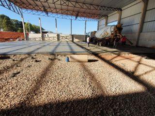 ADMINISTRAÇÃO I Obras da empresa Pampa Ráfia continuam de forma acelerada