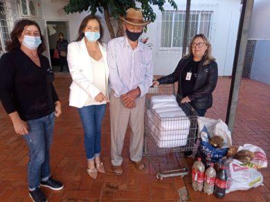 ASSISTÊNCIA SOCIAL I Agricultor faz doação de alimentos de sua produção
