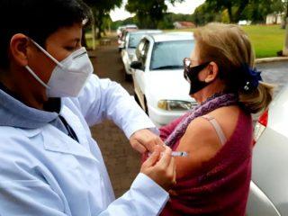 Covid-19: Espumoso conclui imunização de grupos prioritários