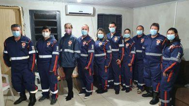 Equipes do SAMU de Espumoso recebem novos uniformes