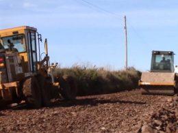 Estrada que liga Espumoso/Mormaço está em obras