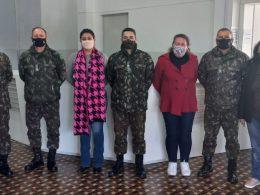 PRM de Santa Maria visita Junta Militar de Espumoso