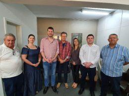 Dep. Federal Giovani Cherini visita Espumoso