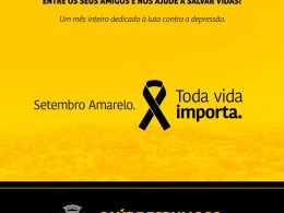 Setembro Amarelo: Auxilio profissional é fundamental