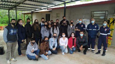 SAMU recebe visita de alunos da Rede Municipal de Ensino