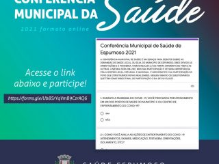 Participe da Conferência Municipal de Saúde